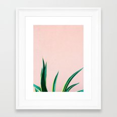 Jungalow Vibe Framed Art Print
