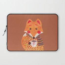 Winter Season is Coming (Fox Version) Laptop Sleeve