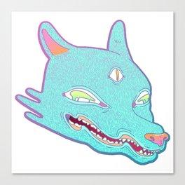 Third Eye Wolf Canvas Print