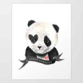 Panda Bear · Heart Breaker · Baby Animal · Nursery Art · Kids Room Art Print