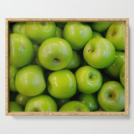 green-apples Serving Tray