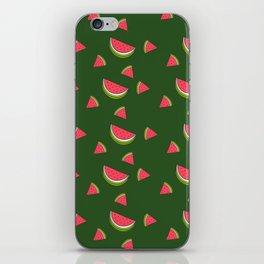 A Sweet Slice watermelon Print iPhone Skin