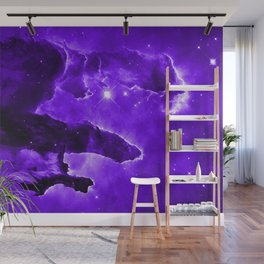 Eagle Nebula Ultraviolet Wall Mural