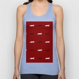 Red Foxes! Unisex Tank Top
