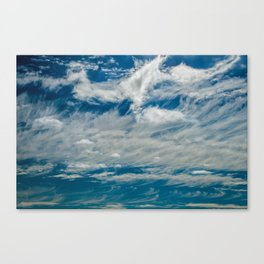 SIMPLY CLOUDS Canvas Print