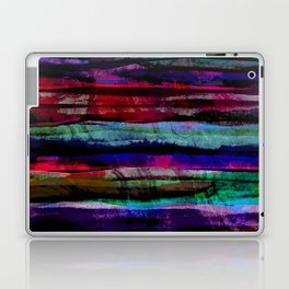 bohemian abstract painting Laptop & iPad Skin