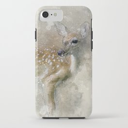 Deer Fawn iPhone Case