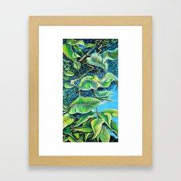 Julie's Jungle Framed Art Print