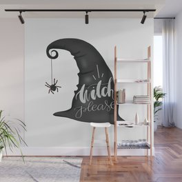 Witch Please Wall Mural