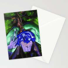 Passion green Stationery Cards