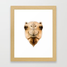 Camel Framed Art Print