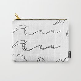 Wavy sticker set v2 Carry-All Pouch