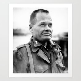 Chesty Puller in Chigyong Art Print