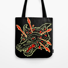 dead wolf Tote Bag