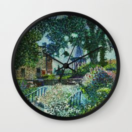 Old Settlers Park in West Bend Wall Clock