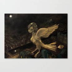 The Enigma of Paris  Canvas Print