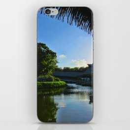 Balcony/Waterfront View iPhone Skin