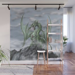 Misty Mountain Wall Mural