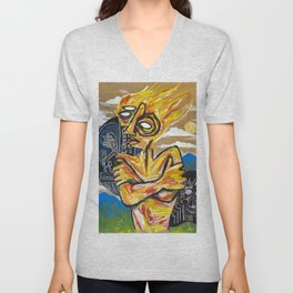 Illusion and disappointment Unisex V-Neck
