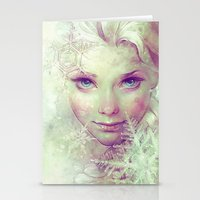elsa Stationery Cards featuring Elsa by Anna Dittmann