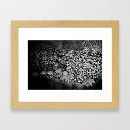 The Unnamed Dead Framed Art Print