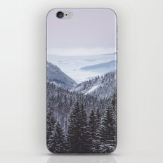 Mountain love iPhone Skin