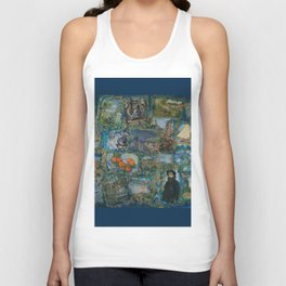 The Impressionists No. 1 COL140215a Unisex Tank Top