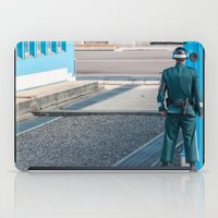 korea iPad Cases featuring Guarding the MDL_South Korea by Jennifer Stinson