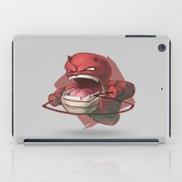 daredevil iPad Cases featuring Daredevil by Knighted