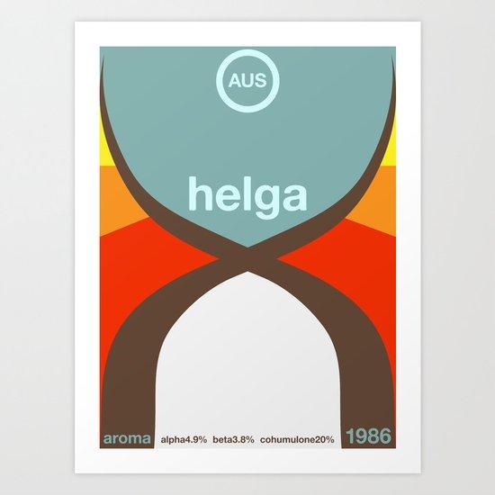 helga single hop Art Print