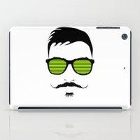 mustache iPad Cases featuring Mustache by FalcaoLucas