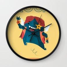 :::Rock Monster::: Wall Clock
