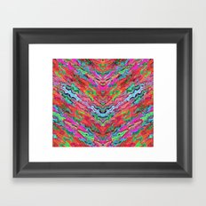 Tulip Trails 4 A Framed Art Print