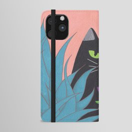 Jungle Cat iPhone Wallet Case