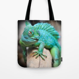 Gecko Reptile Photography Tote Bag