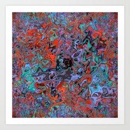 Spills Art Print
