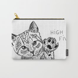 Kitten high five Carry-All Pouch