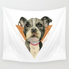 Puppy Eyes 5 Wall Tapestry
