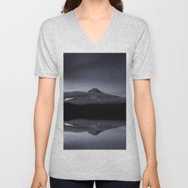 Trillium Lake Reflection Unisex V-Neck