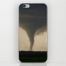 Tornado On the Ground at Salina Kansas iPhone Skin