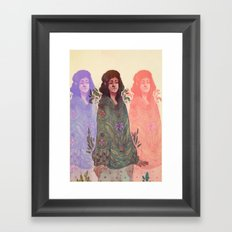 Distracted Identity Framed Art Print
