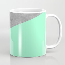 Geometry 101 Mint Meringue Coffee Mug