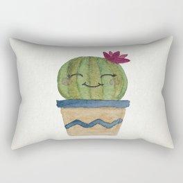 Barrel Cactus Smiles Rectangular Pillow