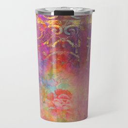 Boho Rose Travel Mug