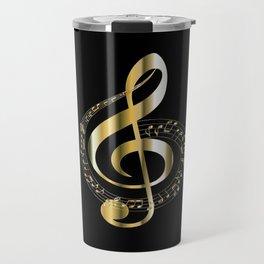 Golden G Cleff Travel Mug