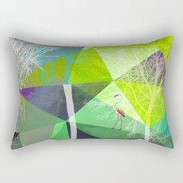 Flamingo P18 Rectangular Pillow
