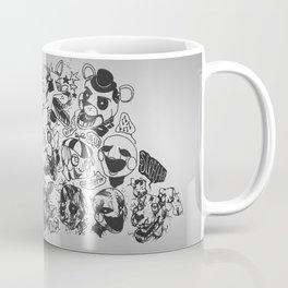 The gang's all here - Five Nights At Freddy's Coffee Mug