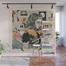 Teenage wife Wall Mural