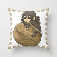 kili Throw Pillows featuring Kili&Walnut by AlyTheKitten