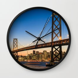 San Francisco 02 - USA Wall Clock